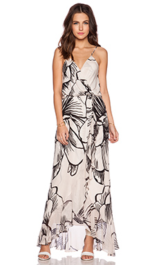 Parker Halle Combo Maxi Dress in Fauna