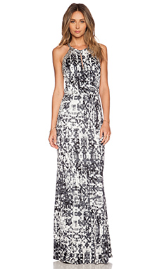 Parker Lita Embellished Maxi Dress in Gazette