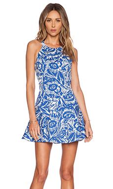 Parker Leona Dress in Cobalt
