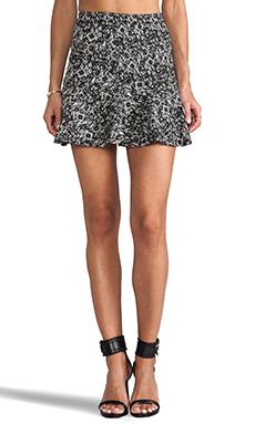 Parker Mckenna Skirt in Black/Cream