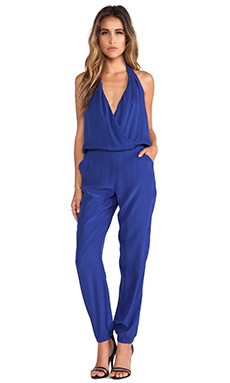 Parker Leroy Jumpsuit in Royal