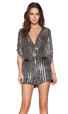 Parker Kimora Sequin Jumper in Black