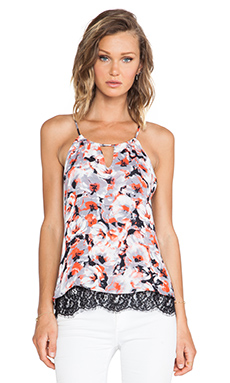 Parker Gully Combo Top in Tango Floral