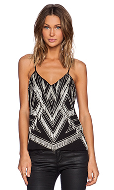 Parker Marley Embellished Tank in Black