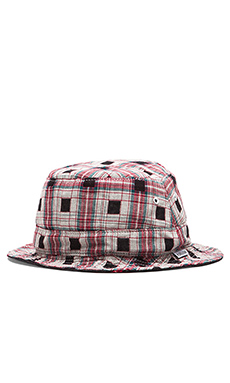 Publish Nicolo Reversible Bucket Hat in Black