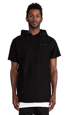 Publish MONO Jaron S/S Sweatshirt in Black