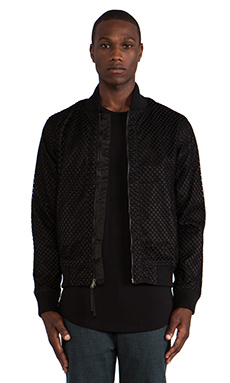 Publish Millo Bomber Jacket in Black