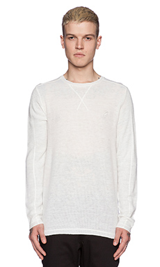 Publish Eaton Pullover in White