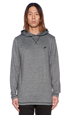 Publish Pratt Hooded Long Sleeve in Black