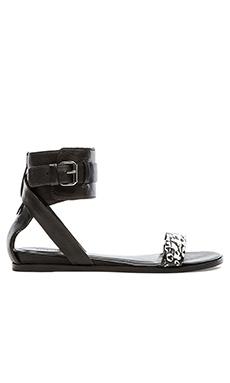 Pour La Victoire Riko Sandal in Black & White
