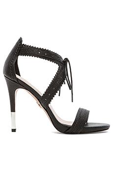 Pour La Victoire Shanna Heel in Black