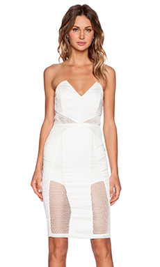 Premonition Valencia Dress in White