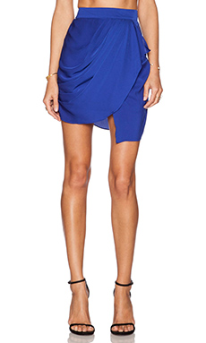 Premonition Rhapsody Skirt in Royal
