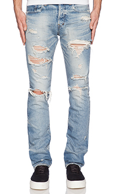 PRPS Japan Demon Fit Destroyed Jean in Light