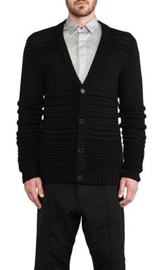 Public School Knit Cardigan in Black