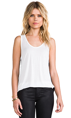 Pencey Standard Inset Tank in White
