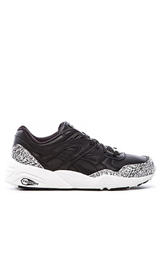 Puma Select R698 Snow Splatter in Black White