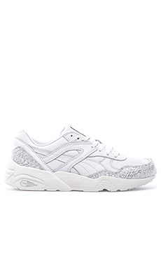 Puma Select R698 Snow Splatter in White Puma Silver