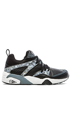 Puma Select Blaze of Glory Marble in Black