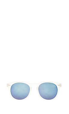 Quay Andy Sunglasses in Clear