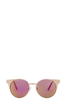 Quay Asha Sunglasses in Gold