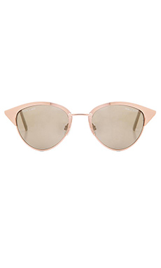 Quay x Shay Mitchell Tilly Sunglasses in Gold