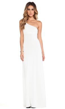 Rachel Pally Conrad One Shoulder Dress in White