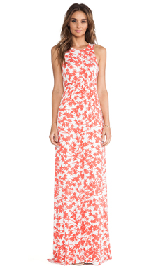 Rachel Pally Phillipa Printed Dress in Persimmon Maple