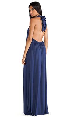 Rachel Pally Renee Halter Dress in Deep
