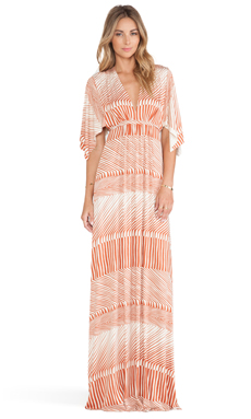 Rachel Pally Long Caftan Dress in Tandoori Ripple