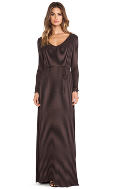 Rachel Pally Rib Mission Dress in Driftwood Stripe