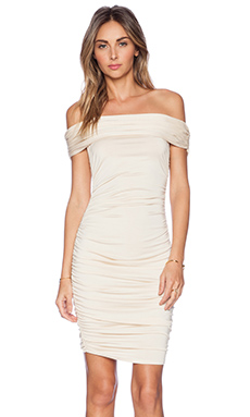 Rachel Pally x REVOLVE Byron Off the Shoulder Dress in Cream