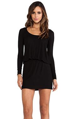 Rachel Pally Rib Hannah Dress in Black