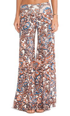 Rachel Pally Wide Leg Trouser in Lotus Paisley