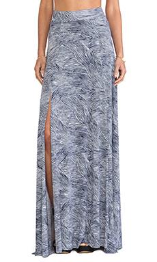 Rachel Pally Josephine Printed Maxi Skirt in Terra