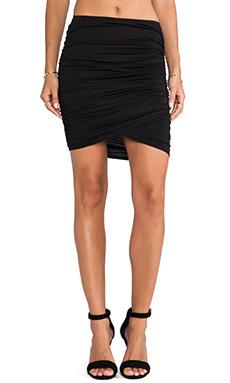 Rachel Pally Brooks Asymmetric Mini Skirt in Black