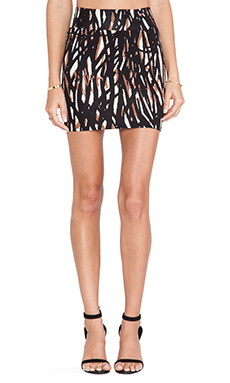 Rachel Pally Bandage Mini Skirt in Briar