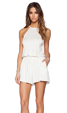 Rachel Pally Dee Dee Playsuit in White