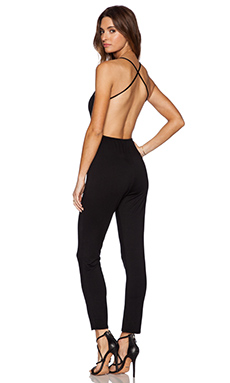 Rachel Pally x REVOLVE Plunge Neck Jumpsuit in Black