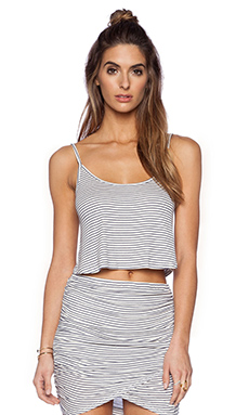 Rachel Pally Rib Easton Top in Prism Stripe