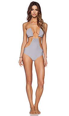 Rachel Pally Alek One PIece Swimsuit in Cement
