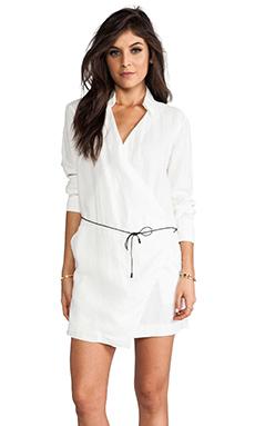 rag & bone/JEAN The Wrap Dress in White