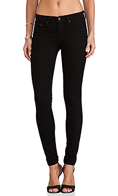 rag & bone/JEAN The Legging in Blackout