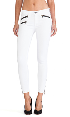 rag & bone RBW 23 Crop in Bright White