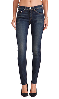 rag & bone/JEAN The High-Rise Skinny in Chaucer
