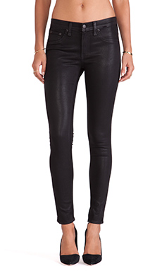 rag & bone/JEAN The Legging in Coated Black