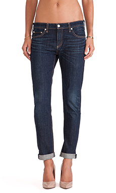 rag & bone/JEAN The Dre Boyfriend in Classic