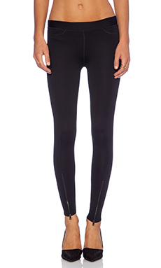 rag & bone/JEAN The Lawson Legging in Black Chevron