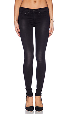 rag & bone/JEAN The Legging in Metal