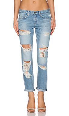 rag & bone/JEAN Boyfriend Jean in Rebel